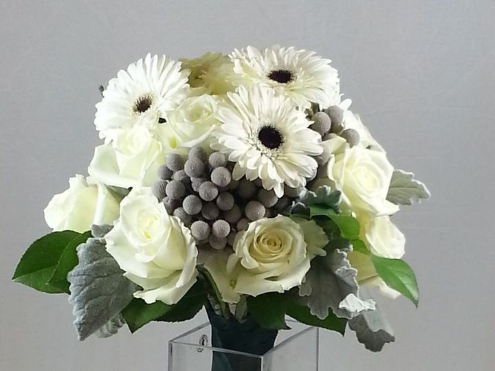 Tmx 1474913676555 White Bridal Bouquet 92016 Bensalem wedding florist
