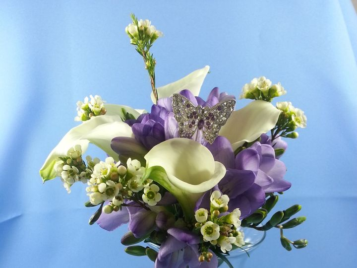 Tmx 1474913742890 White Calla And Lavender Freesia 92016 Bensalem wedding florist