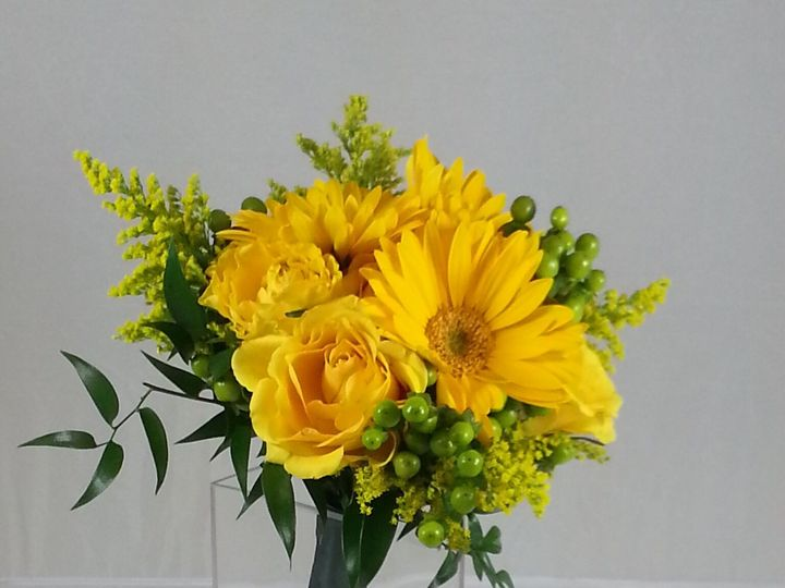 Tmx 1474913762999 Yellow Bouquet 92016 Bensalem wedding florist