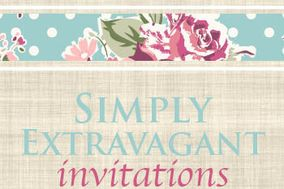 Simply Extravagant Invitations