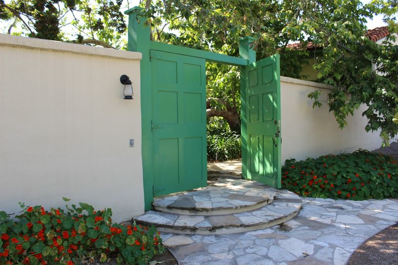 Inner Courtyard Entrance