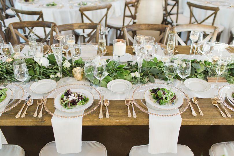 Elegant Table Scape, JM Wed