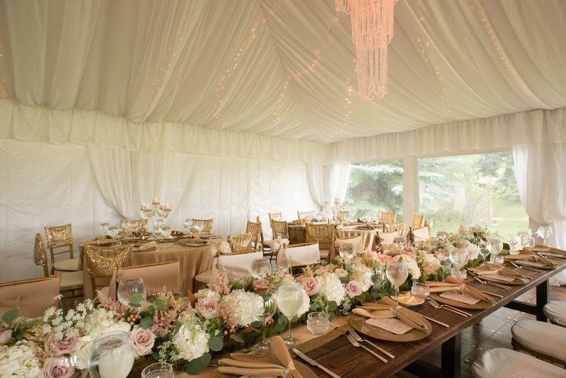 Elegant tent wedding,JM Wed