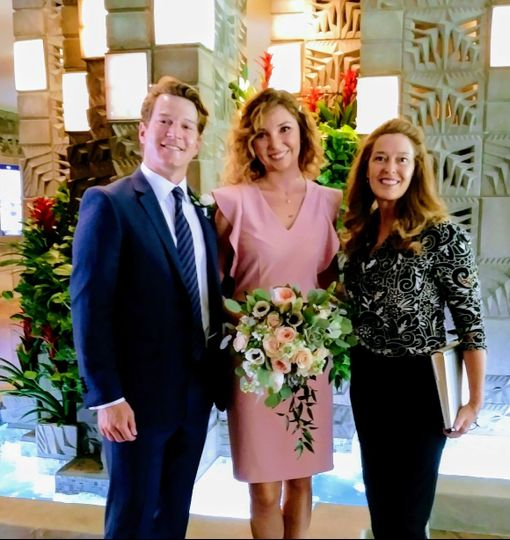 Elopment Arizona Biltmore Phoenix Wedding Minister Reverend Amy Miller