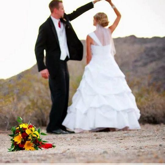 Desert Wedding Phoenix Arizona By Reverend Amy