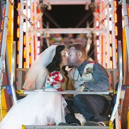 Arizona State Fair Wedding, Performed by Phoenix Wedding Minister Reverend Amy Miller