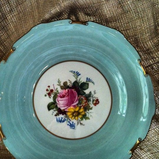 Vintage plate from England