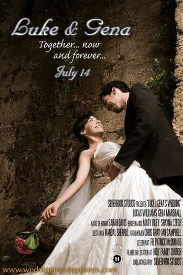 Wedding Movie Poster for Luke & Gena