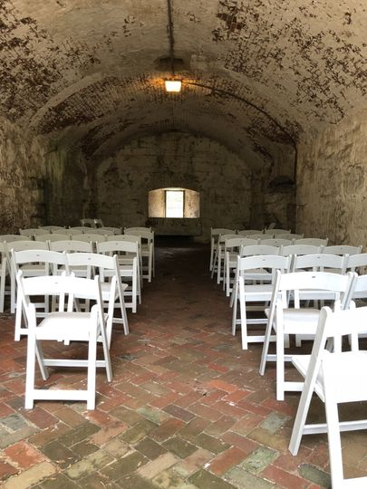 Try something unique with a ceremony inside the walls of Fort Monroe.