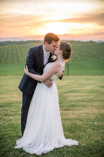 Sunset kiss - Melissa Diane Photography, LLC