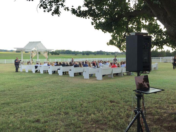 Tmx 2 1 Ceremony Setup 51 581983 Oklahoma City, Oklahoma wedding dj
