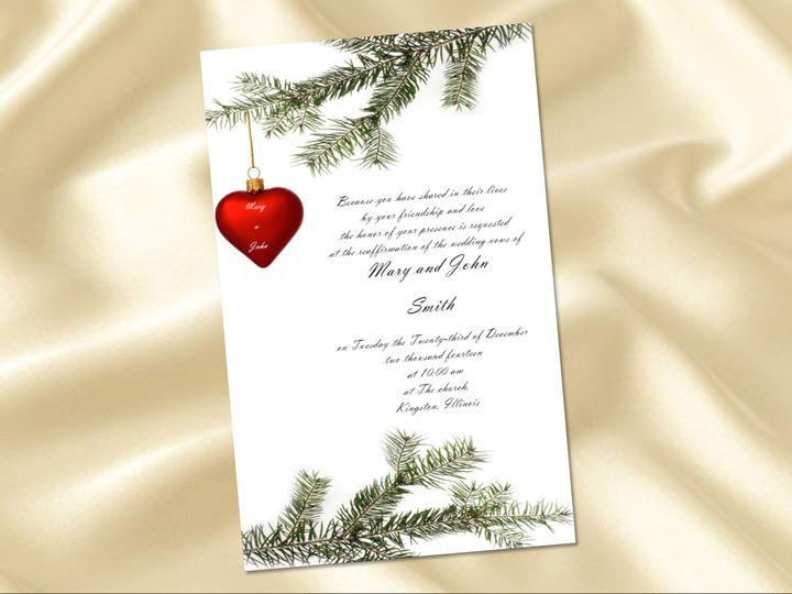 Tmx 1461347184754 Ornament Carol Stream wedding invitation