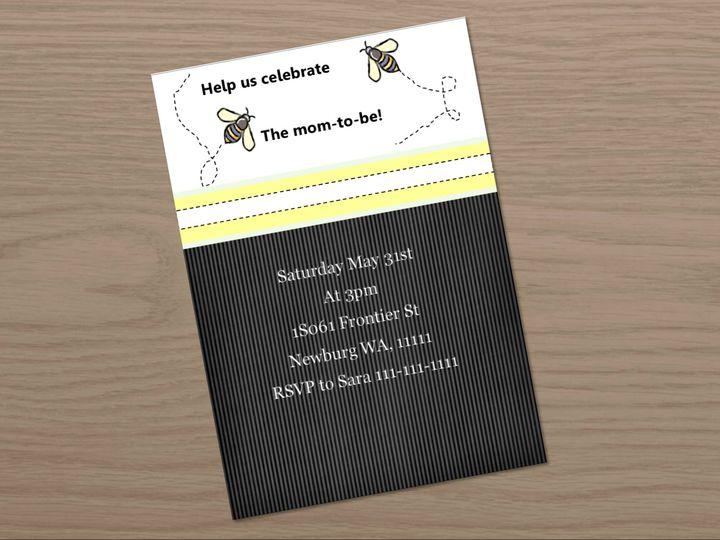 Tmx 1461347276472 Bride To Be Carol Stream wedding invitation