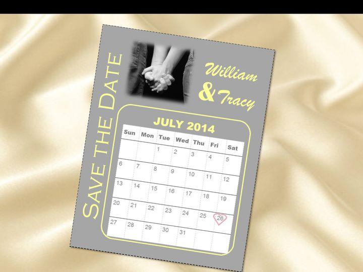 Tmx 1461347287637 Calendar Save The Dates Carol Stream wedding invitation