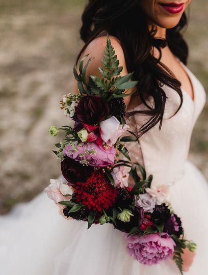 Wearable bouquet