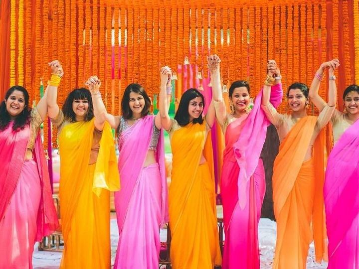 Tmx Indian Bridesmaid Dresses Cred Photoz Aapki Brigh Colors 51 1904983 158085189530659 Minneapolis, MN wedding dress