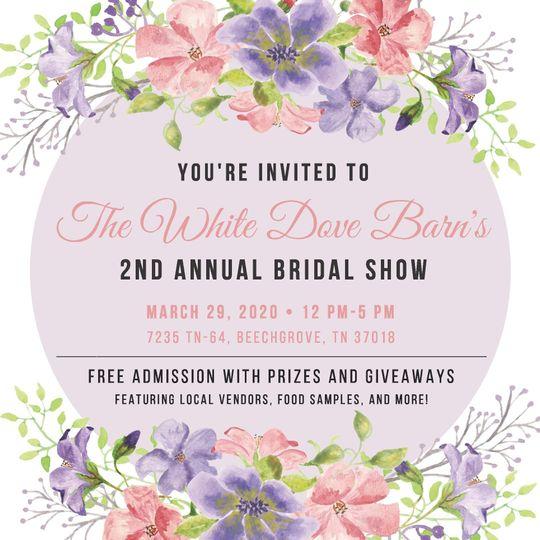 BRIDAL SHOW EVENT!!