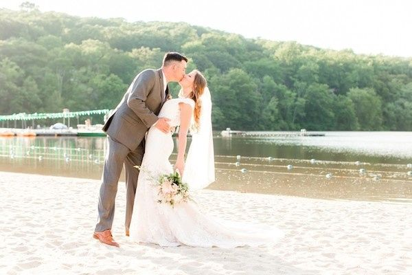 Tmx 1505327498266 Idalia Photography Ninni And Scott Beachfront Kiss Montville, NJ wedding venue