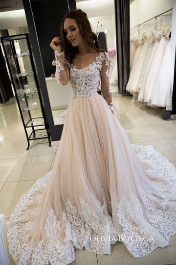 European wedding dress