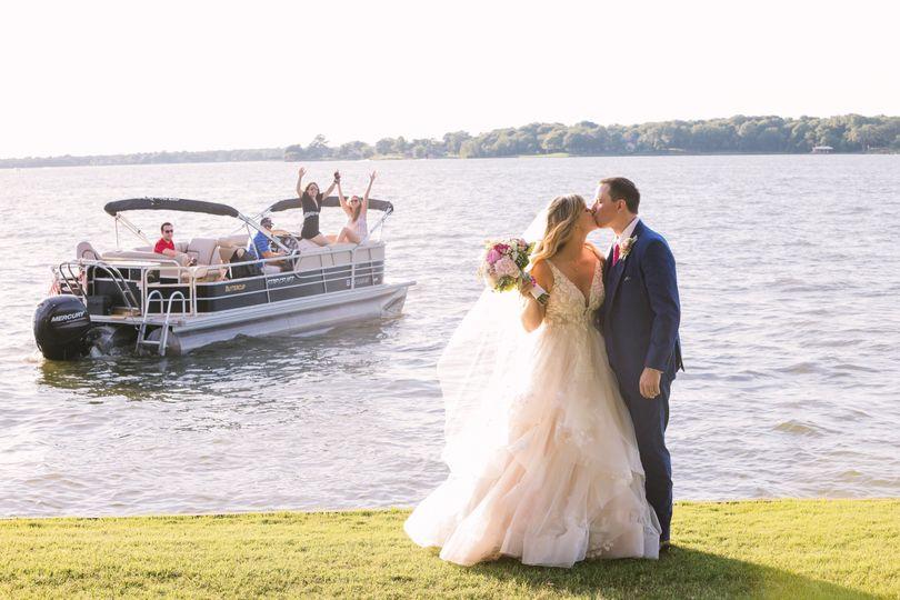 Lakeside ceremony-Covid Style