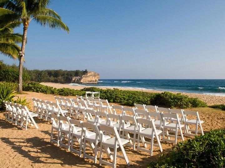 Tmx 1339534867686 Beachweddingsetupsm Koloa, HI wedding venue