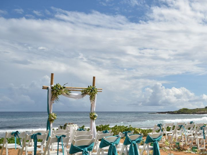 Tmx 1501011448 1e5f198eb8e2864a 1463614997599 Beach Location Koloa, HI wedding venue