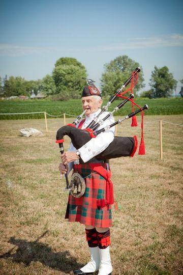 Musician, bagpiper, Scottish traditions