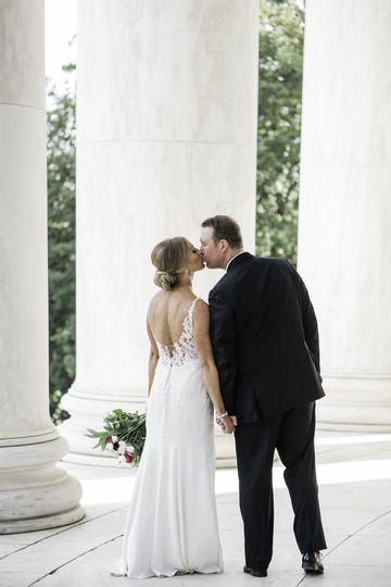 A kiss in Washington
