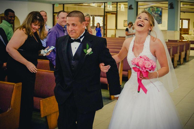 Trip the bride