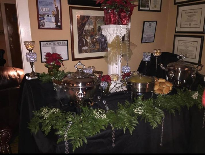Tablescapes for an event