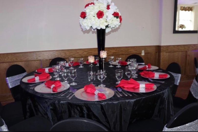 Sophisticated tablescapes
