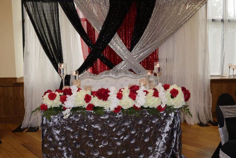 Decorations for an event
