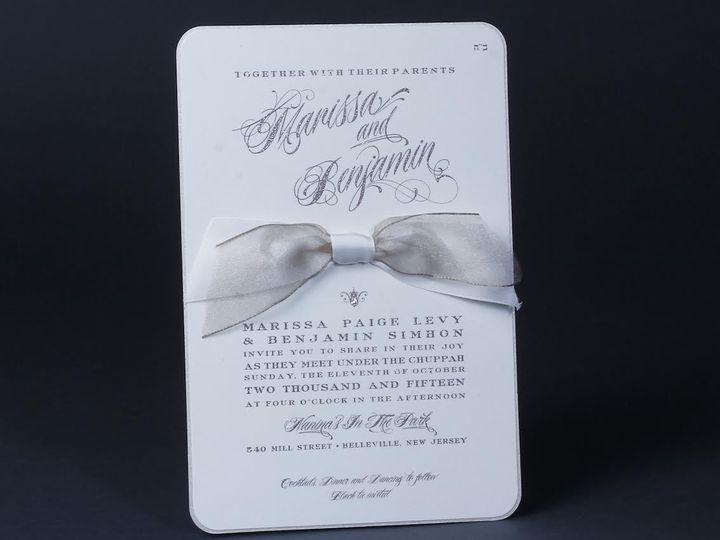 Tmx 1479312832693 Bobbie Herman 3 White Plains wedding invitation