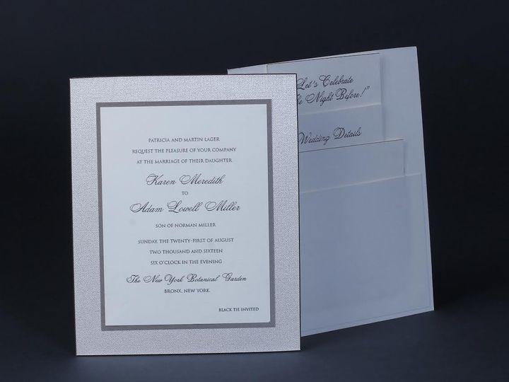 Tmx 1479312853340 Bobbie Herman 6 White Plains wedding invitation