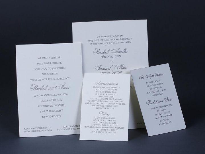 Tmx 1479312874645 Bobbie Herman 9 White Plains wedding invitation