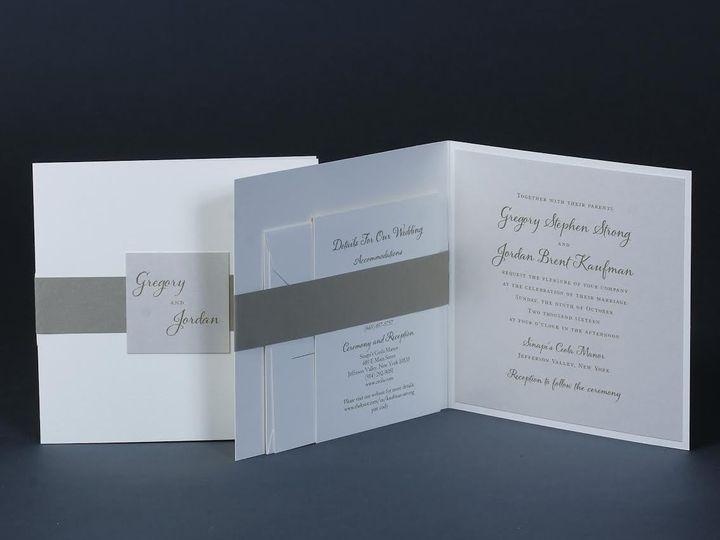 Tmx 1479312881423 Bobbie Herman 10 White Plains wedding invitation