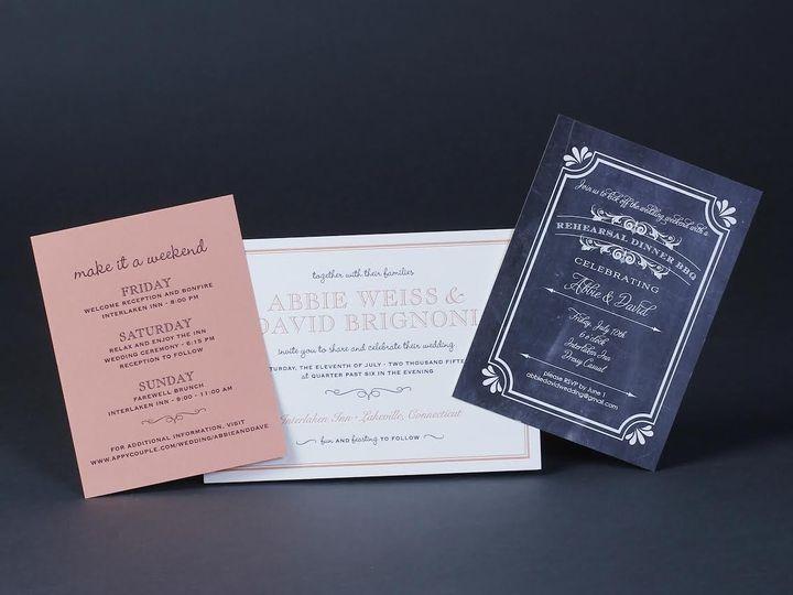 Tmx 1479312900792 Bobbie Herman 13 White Plains wedding invitation