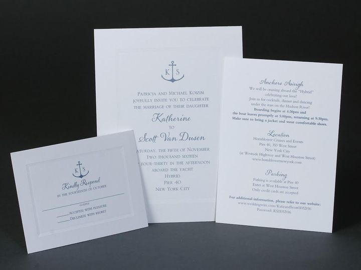Tmx 1479390148732 Bobbie Herman 23 White Plains wedding invitation