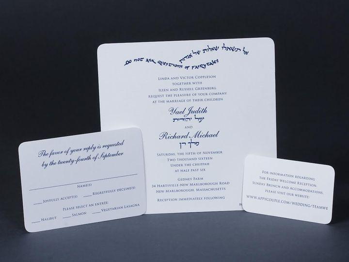 Tmx 1479390162700 Bobbie Herman 26 White Plains wedding invitation