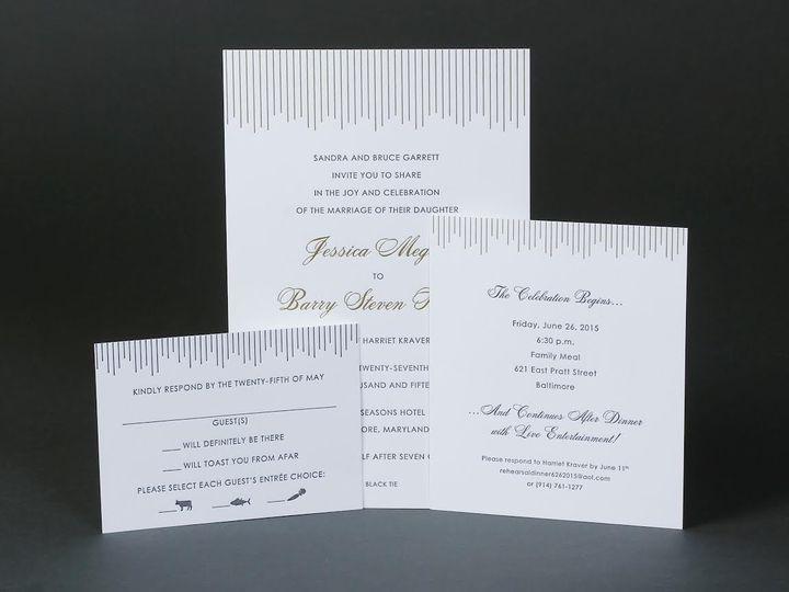 Tmx 1479390170135 Bobbie Herman 27 White Plains wedding invitation