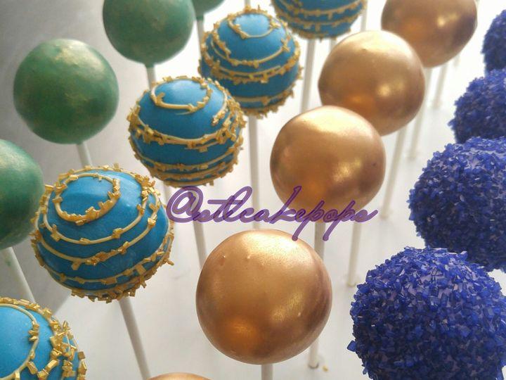Tmx 1448936257694 Peacock Jewel Tone Cake Pops1 Saint Charles wedding favor
