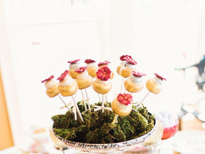 Tmx 1463424653250 White  Gold Wedding Cake Cake Pops Saint Charles wedding favor