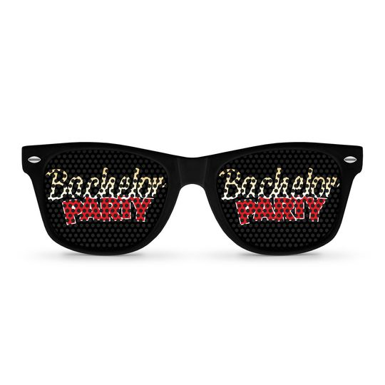 bachelor party sunglasses by eyepste