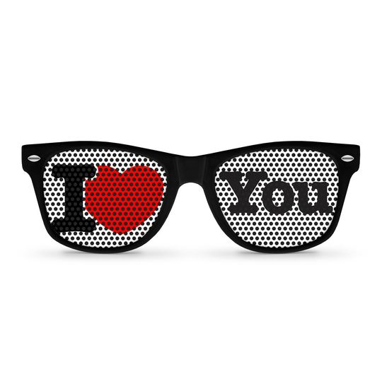 i love you sunglasses by eyepste