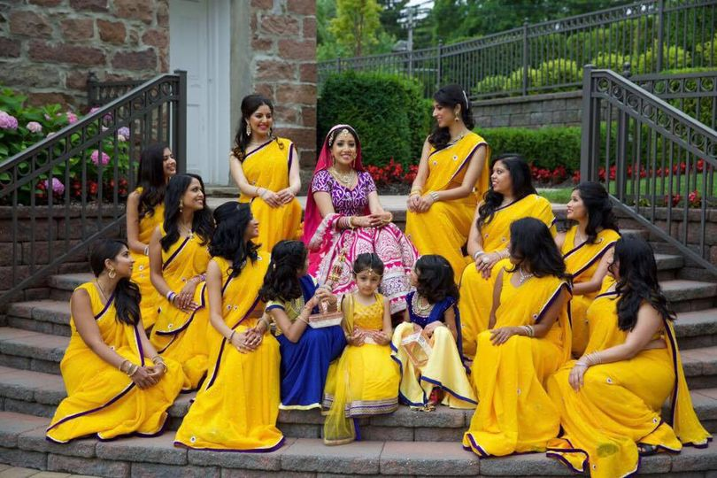 Indian Bridal Party 2