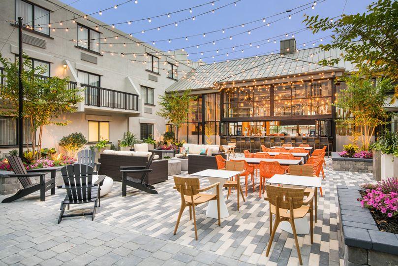 Outside Bar/ Courtyard