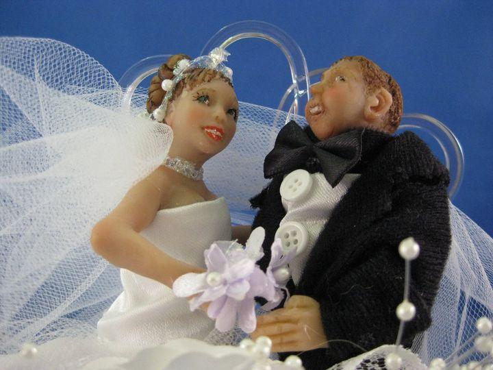 Tmx 1353790990636 WeddingCakeTopperFeb282012005closeup Overland Park, KS wedding favor