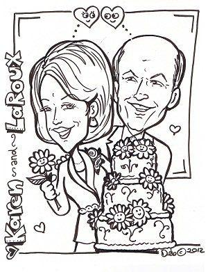 Tmx 1361741840623 LaRouxandKarenBlackandWhite Overland Park, KS wedding favor