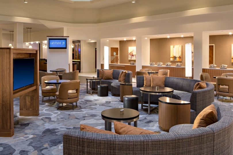 M club lounge seating