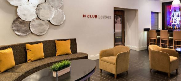 M club seating area